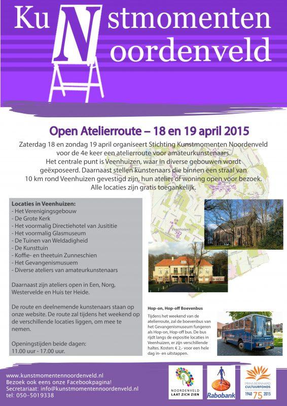Poster Atelierroute 18-19 april